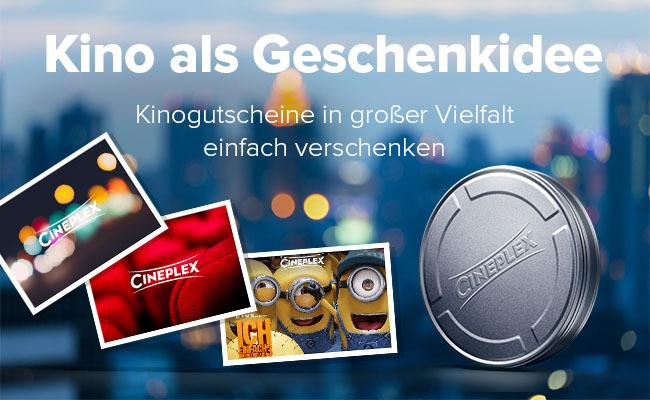 Cineplex Gutscheine Cineplex Gruppe