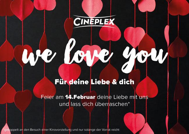 Feier Deine Liebe Am Valentinstag Bei Uns. Beim Besuch Einer  Kinovorstellung Erhältst Du Von Uns Eine Überraschung!*