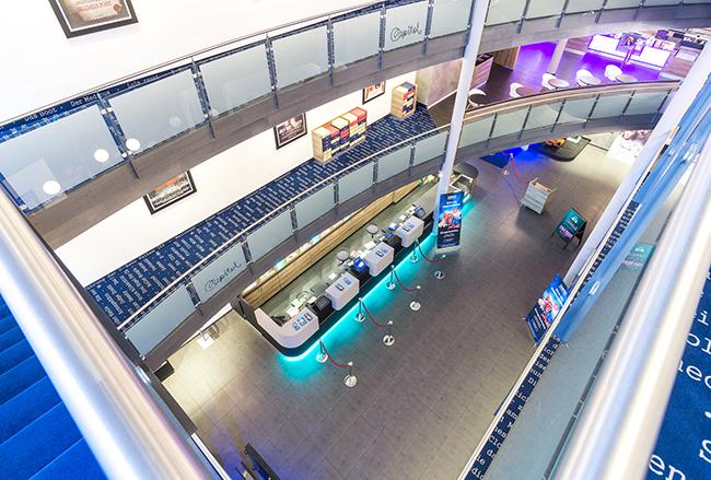 Cineplex Capitol 4d-Kino Kassel