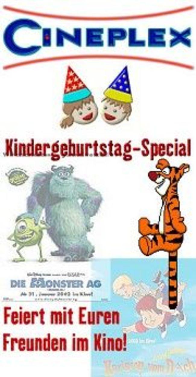 kindergeburtstag im kino | cineplex bad kreuznach, Einladung