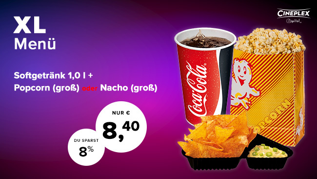 Cineplex Capitol Kassel Concession Snacks