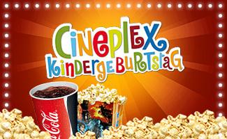 kindergeburtstag | cineplex reutlingen, Einladung