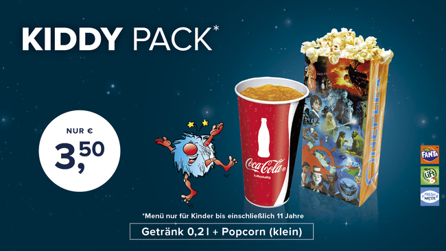 Cineplex Lippstadt - Kiddy Pack