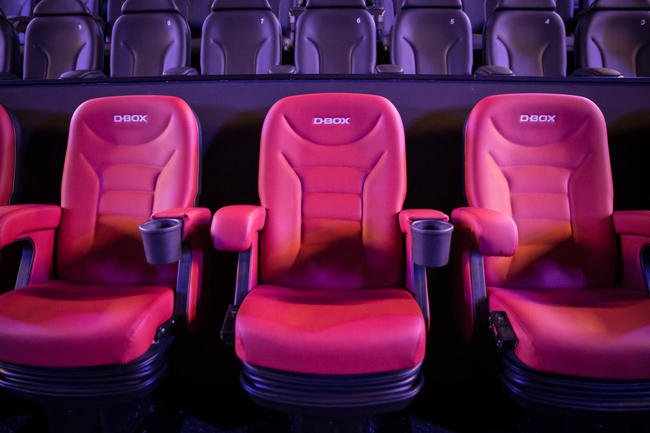 Cineplex Baunatal D-Box 4D Motion Seats
