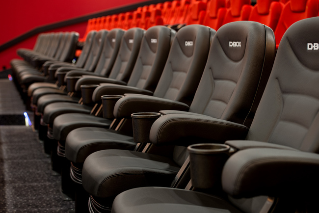 Cineplex Capitol D-Box Motion Seats